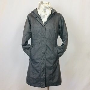Jackets & Blazers - chic grey fully lined stadium coat